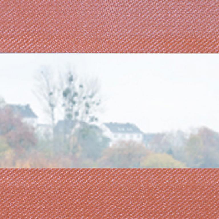 Muster Detailansicht Gewebe kombiniert mit Sichtfenster